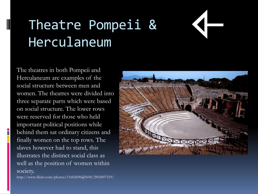 social class in pompeii Ancient history and archaeologycom - pompeii's amphitheatre the arena accommodated all social classes, demonstrating the universal popularity of the games.