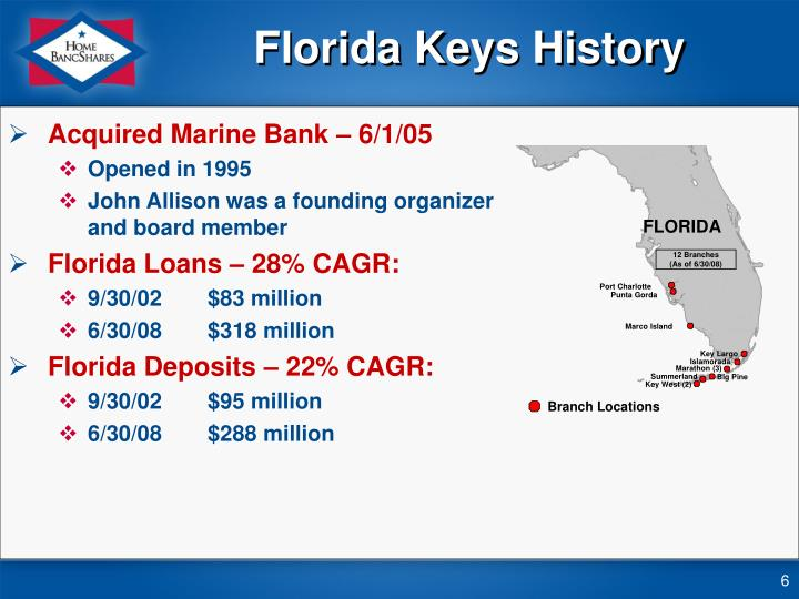 Florida Keys History