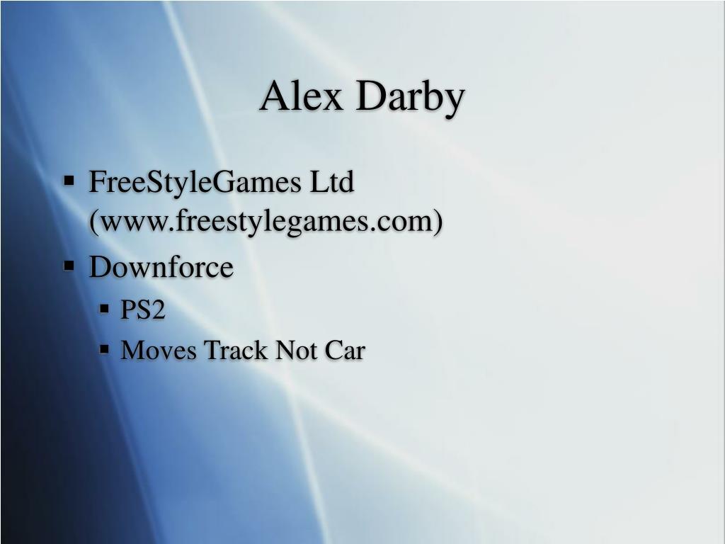 Alex Darby