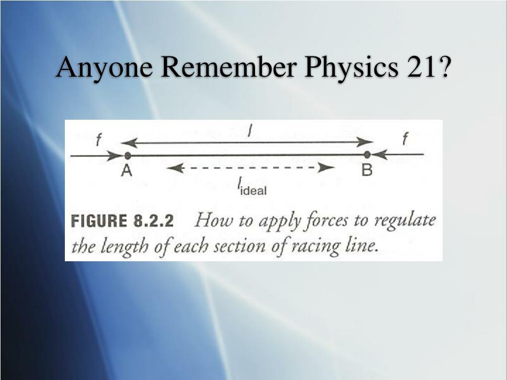Anyone Remember Physics 21?