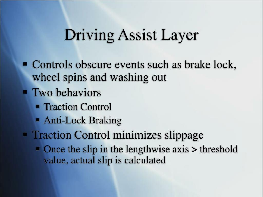 Driving Assist Layer