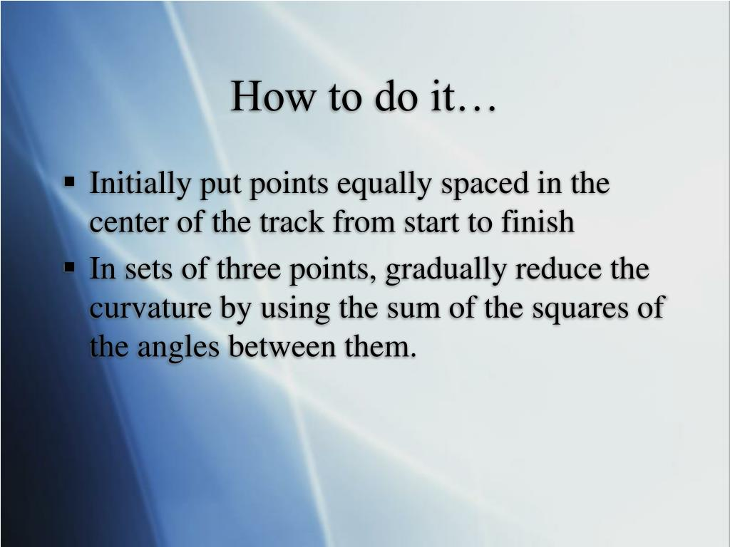 How to do it…