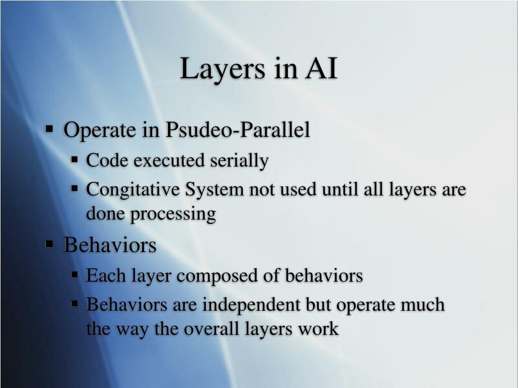 Layers in AI