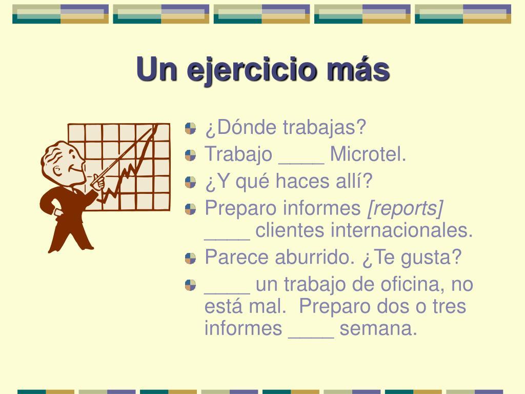 Un ejercicio m