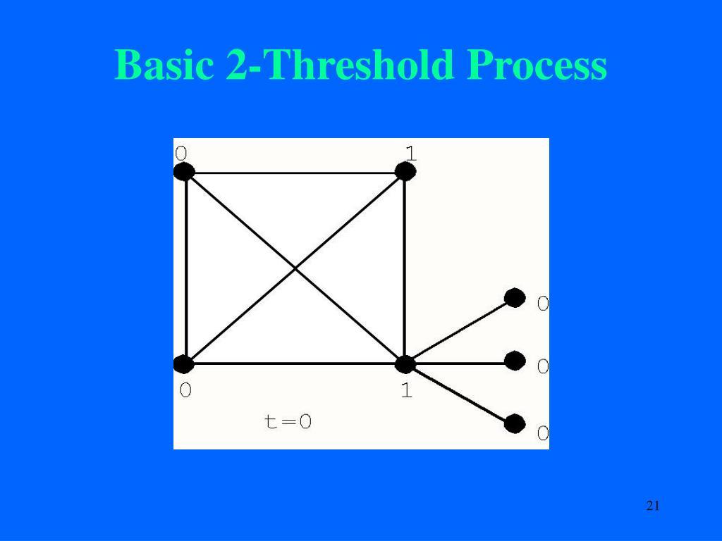 Basic 2-Threshold Process