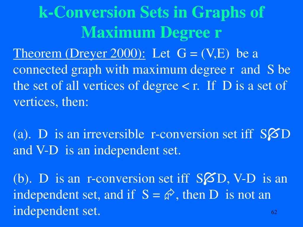 k-Conversion Sets in Graphs of Maximum Degree r
