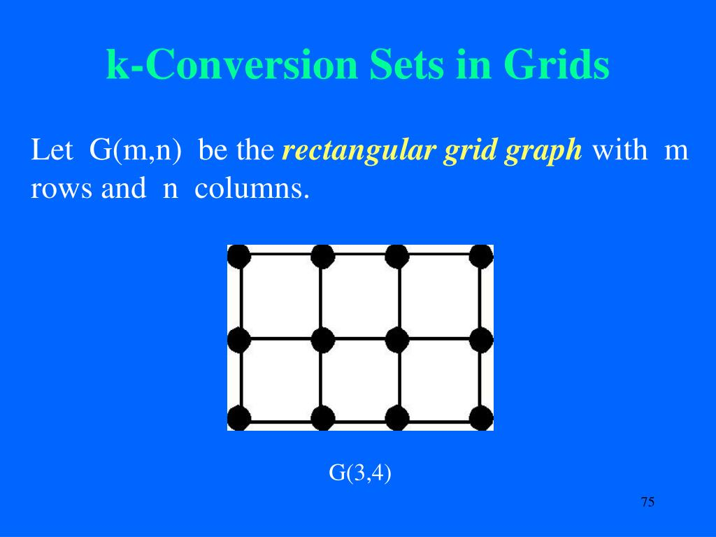 k-Conversion Sets in Grids