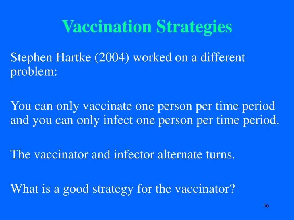 Vaccination Strategies