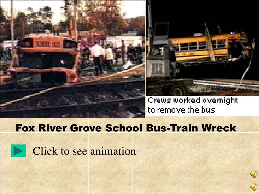 Fox River Grove School Bus-Train Wreck