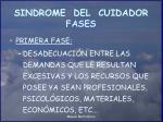 sindrome del cuidador fases12