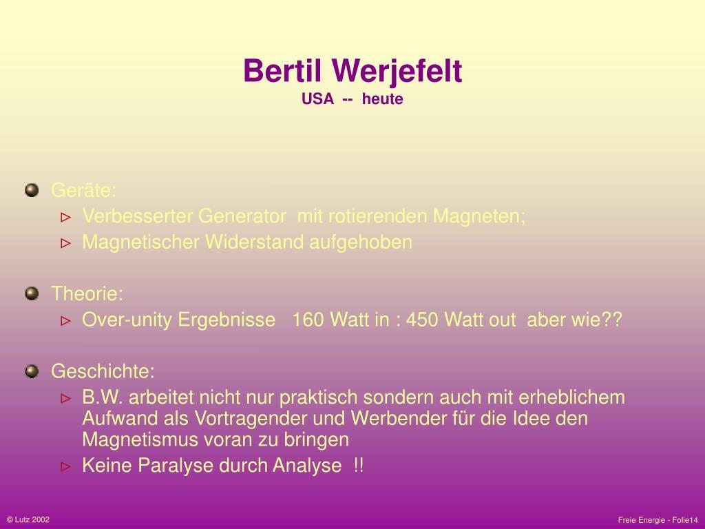 Bertil Werjefelt