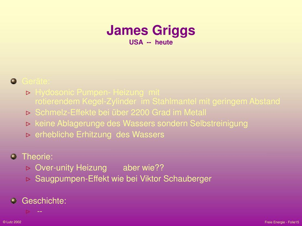 James Griggs