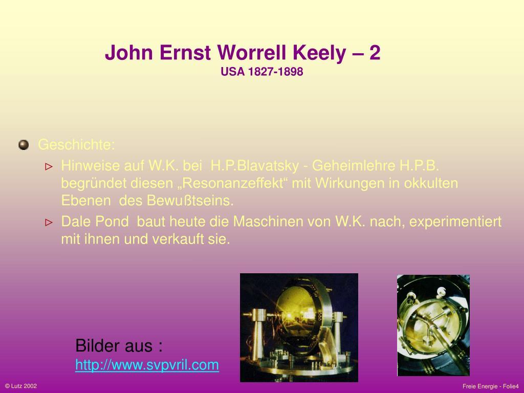John Ernst Worrell Keely – 2