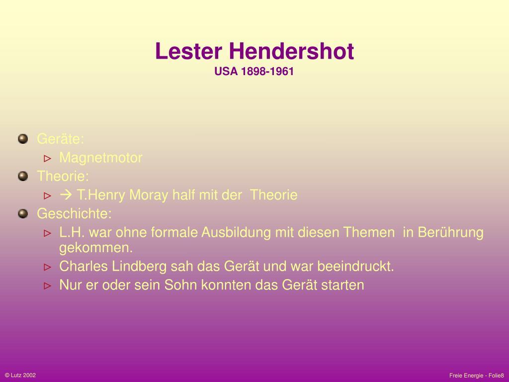 Lester Hendershot