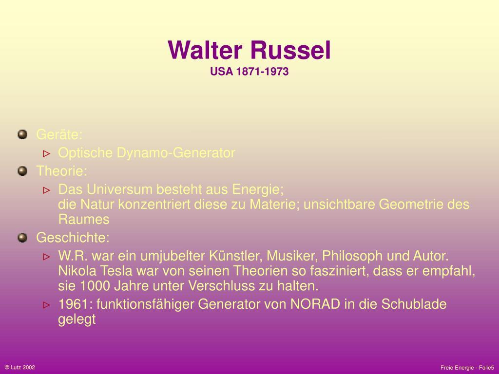 Walter Russel