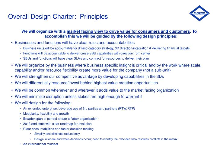 Overall design charter principles l.jpg