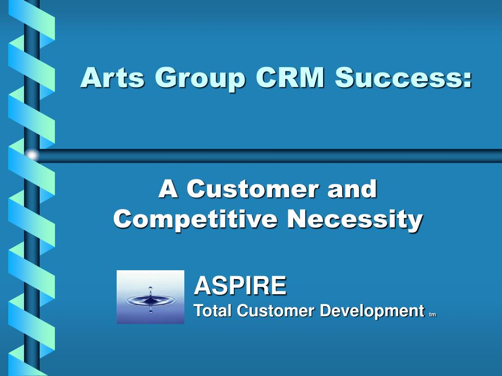Arts Group CRM Success: