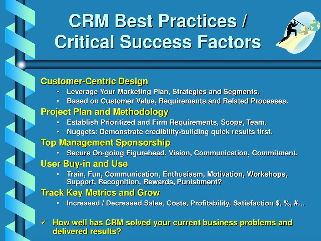 CRM Best Practices /