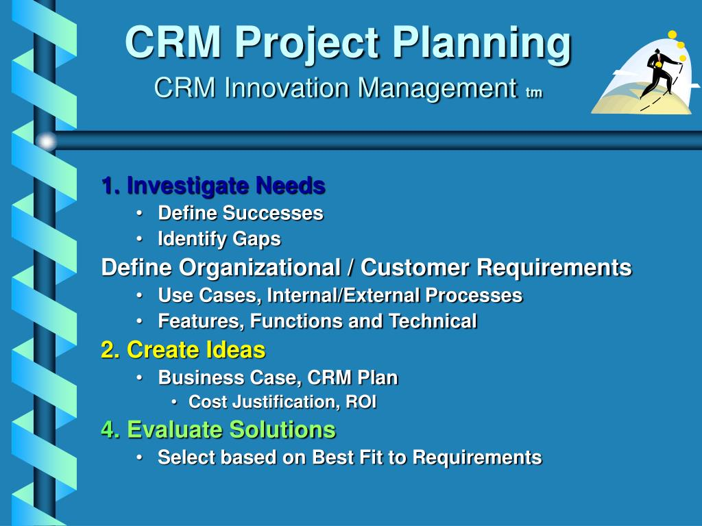 CRM Project Planning