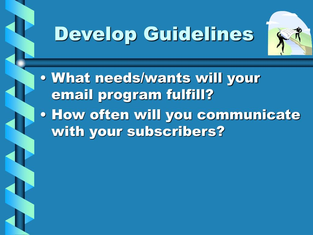 Develop Guidelines