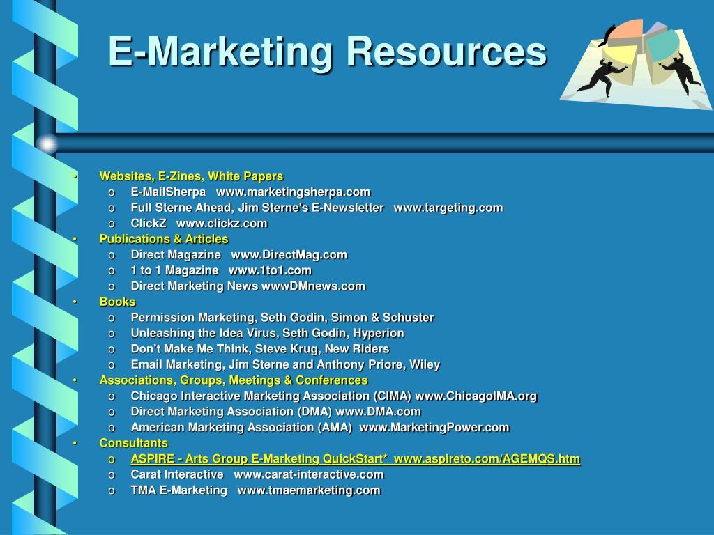 E-Marketing Resources