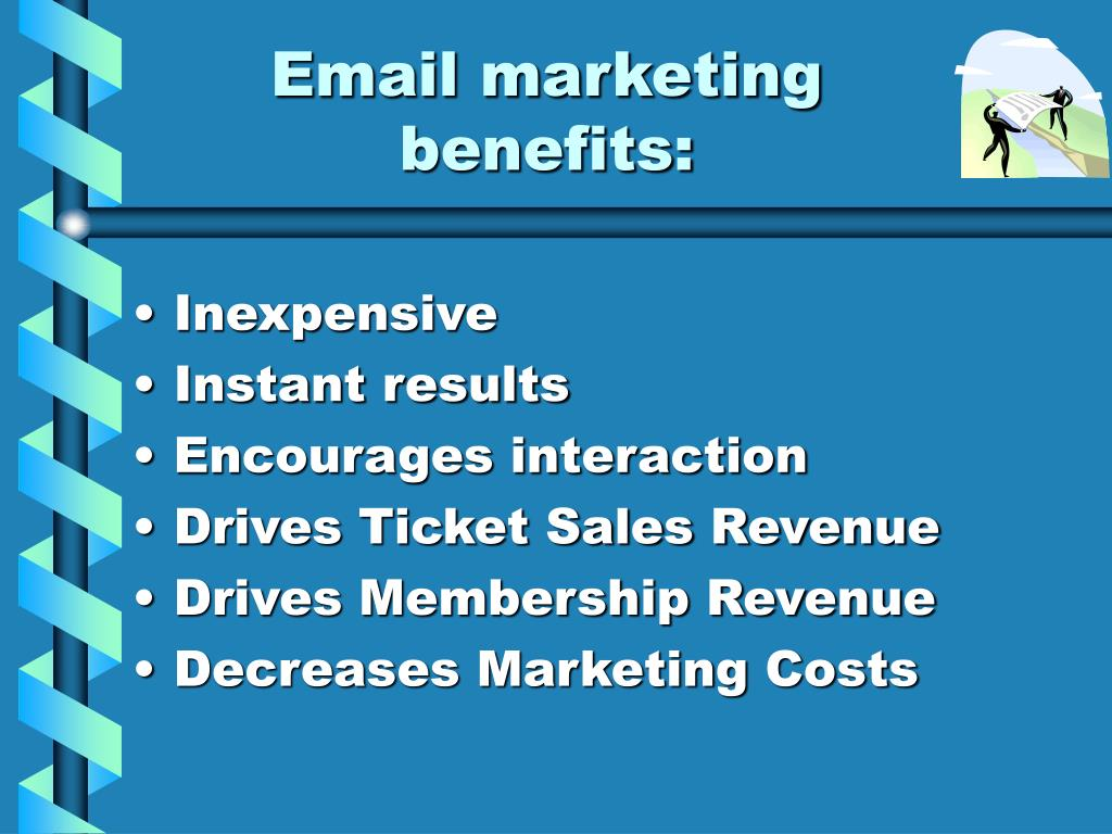 Email marketing benefits: