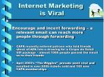 internet marketing is viral