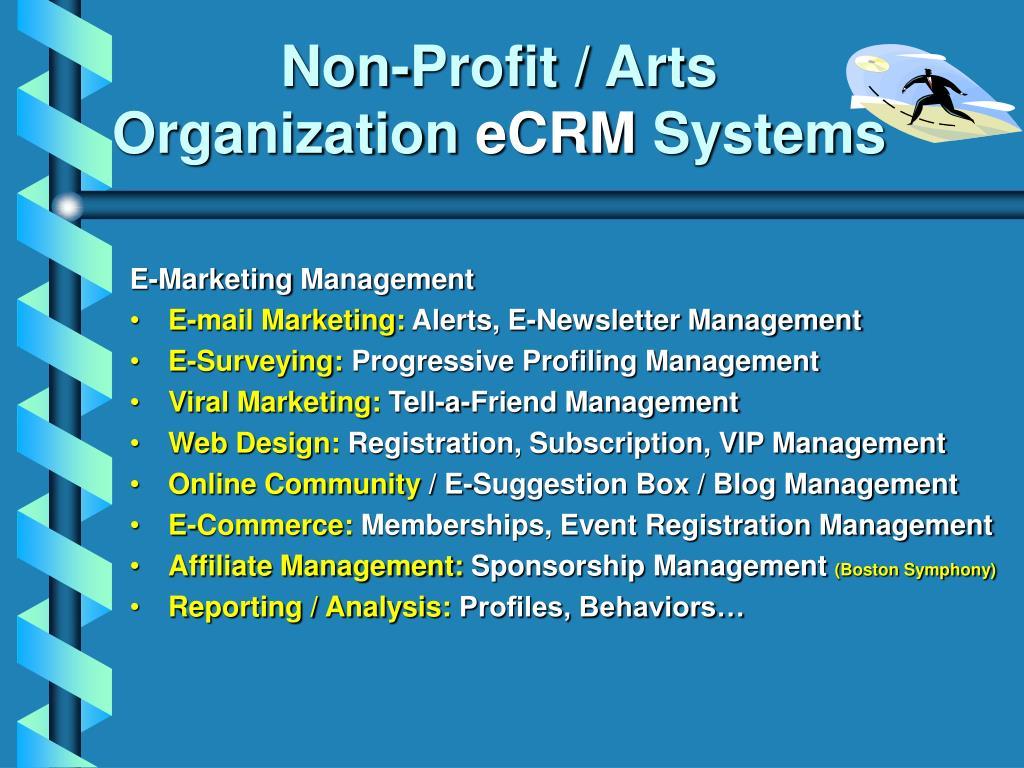 Non-Profit / Arts