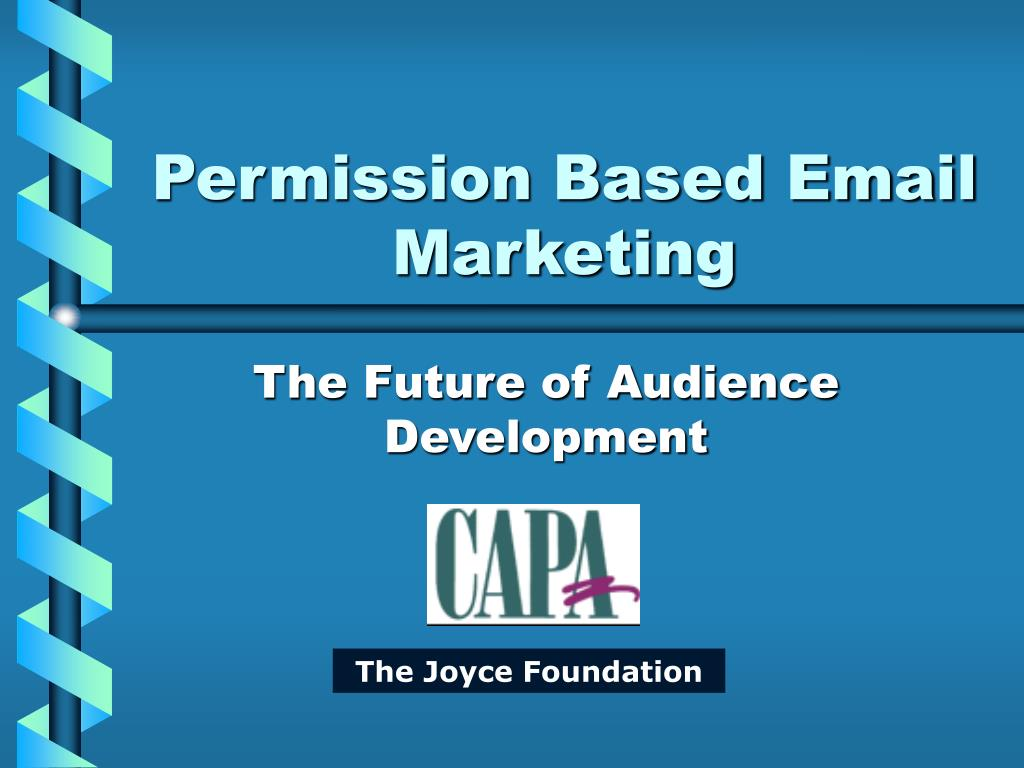 Permission Based Email Marketing