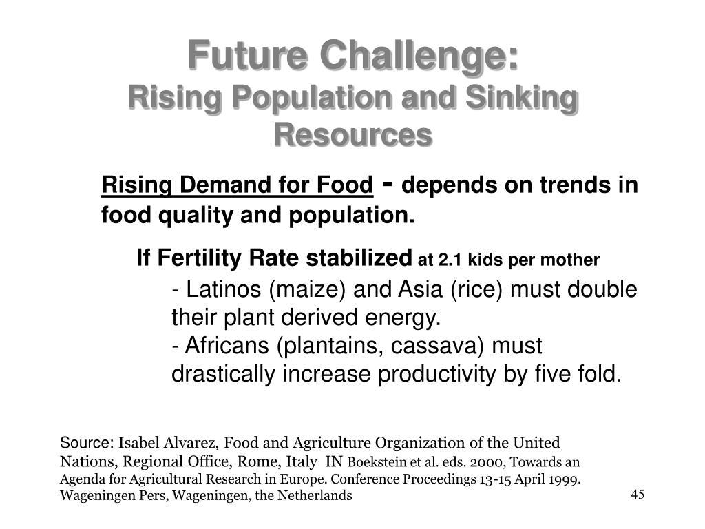 Future Challenge: