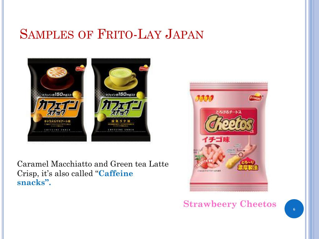 Samples of Frito-Lay Japan