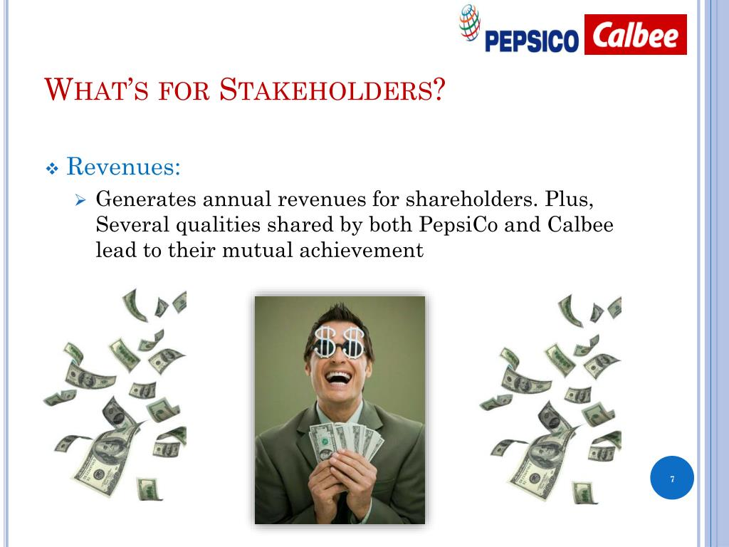 What's for Stakeholders?