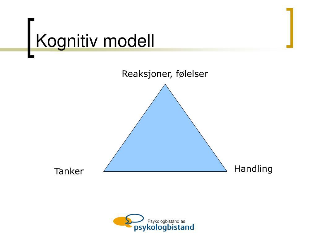 Kognitiv modell