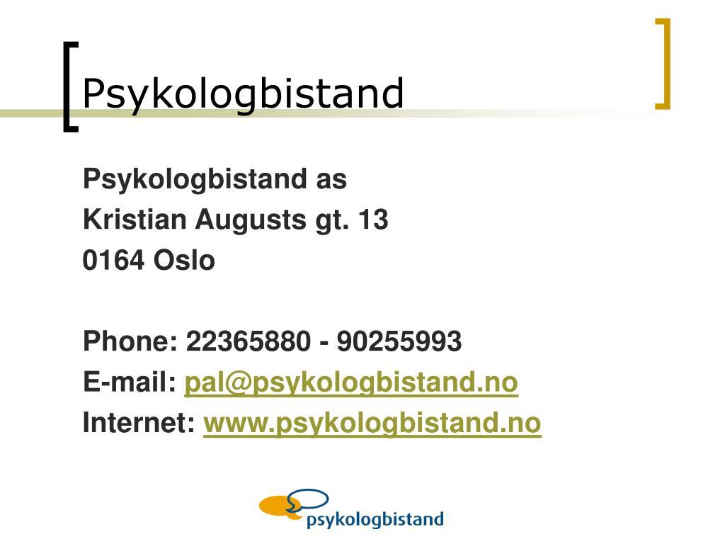 Psykologbistand