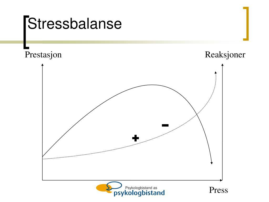 Stressbalanse