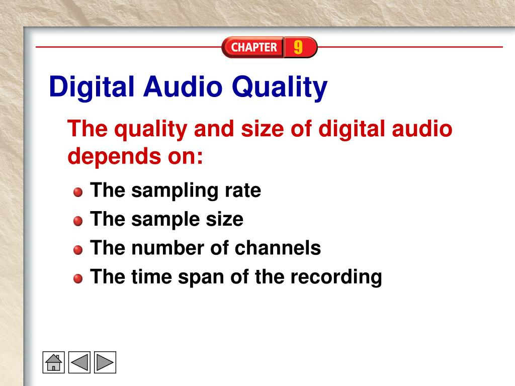 Digital Audio Quality