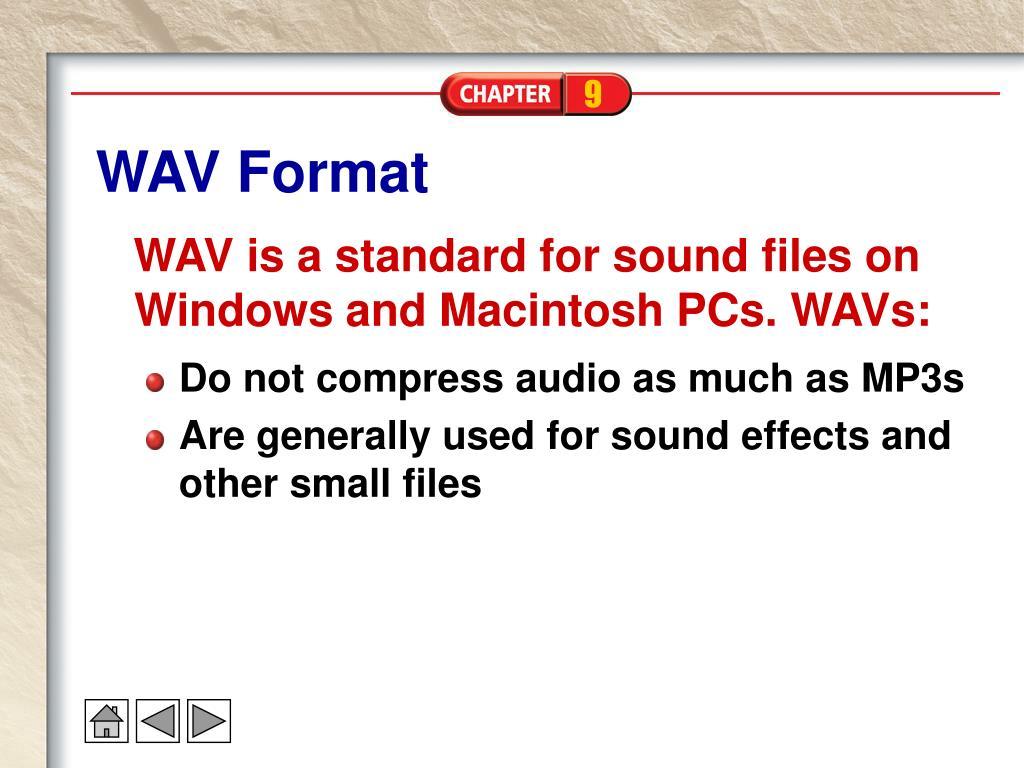 WAV Format