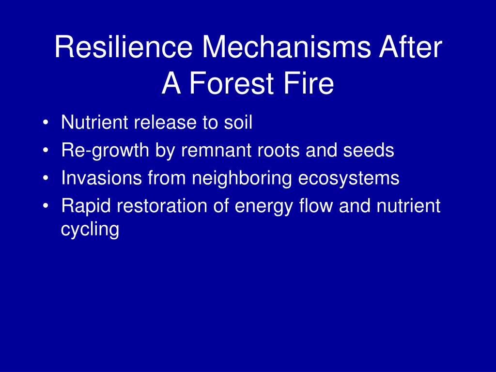Nutrient release to soil