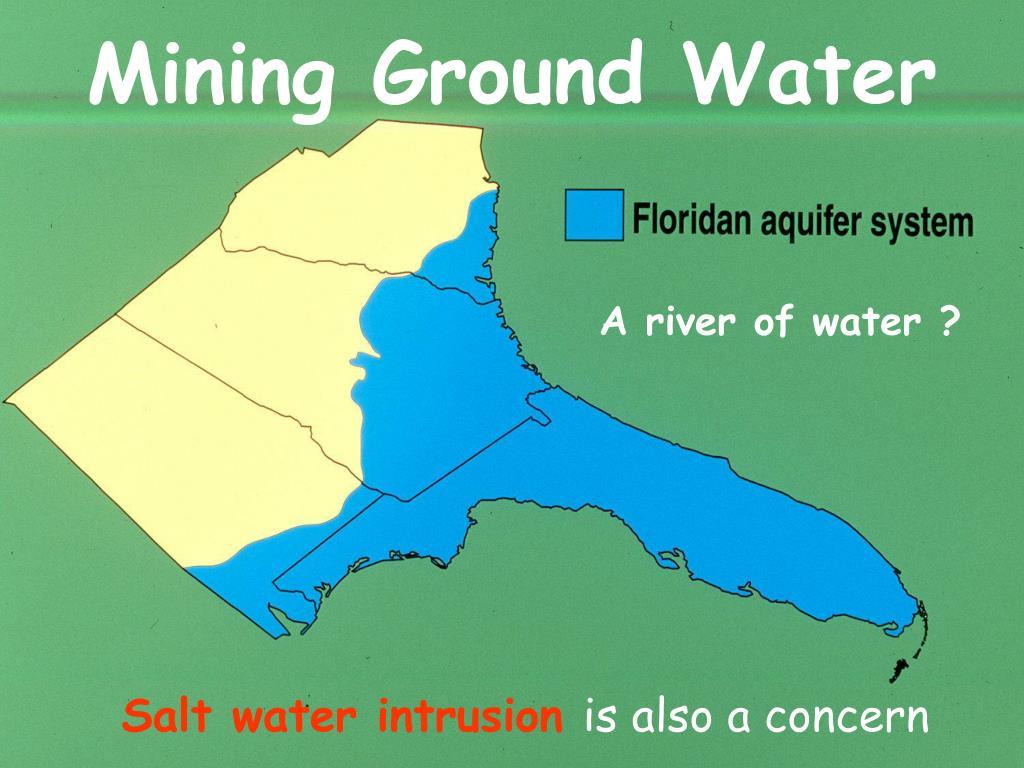 Mining Ground Water