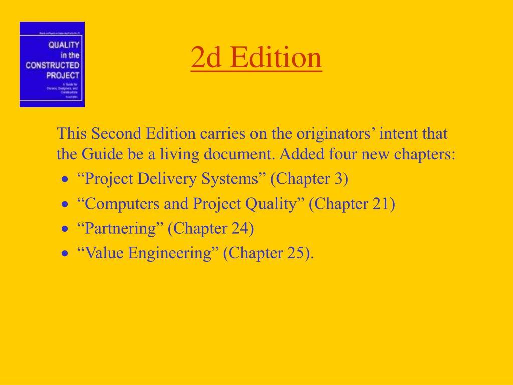 2d Edition