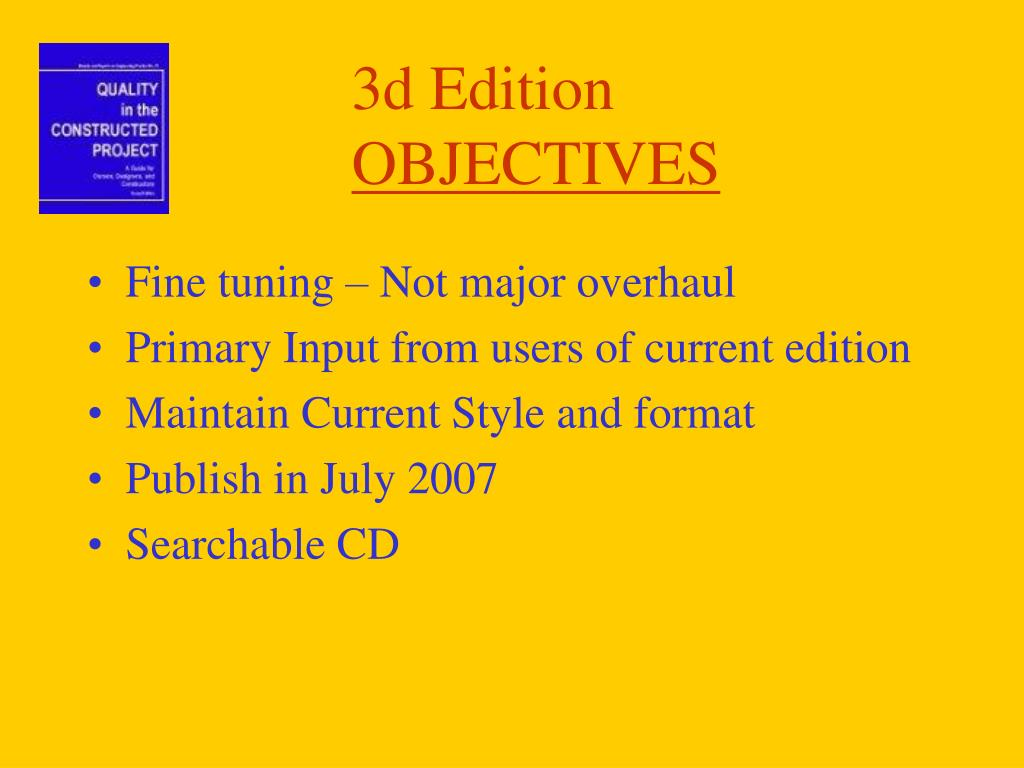 3d Edition