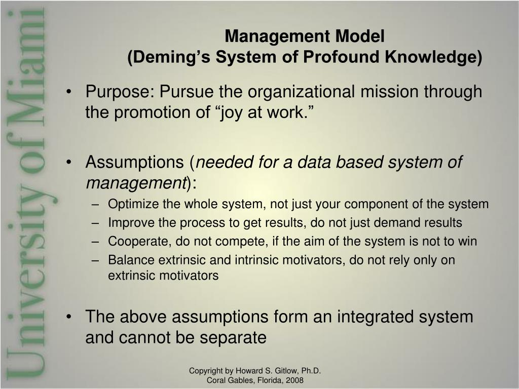 Management Model