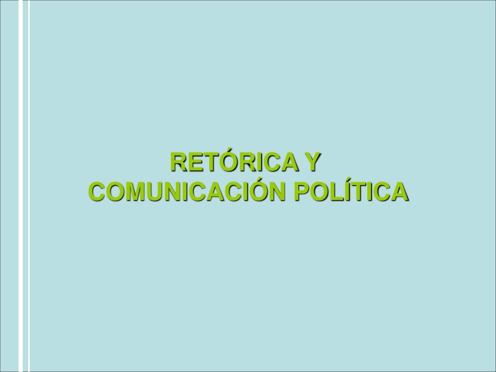 RETÓRICA Y