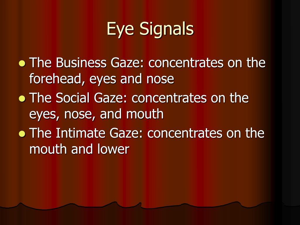 Eye Signals