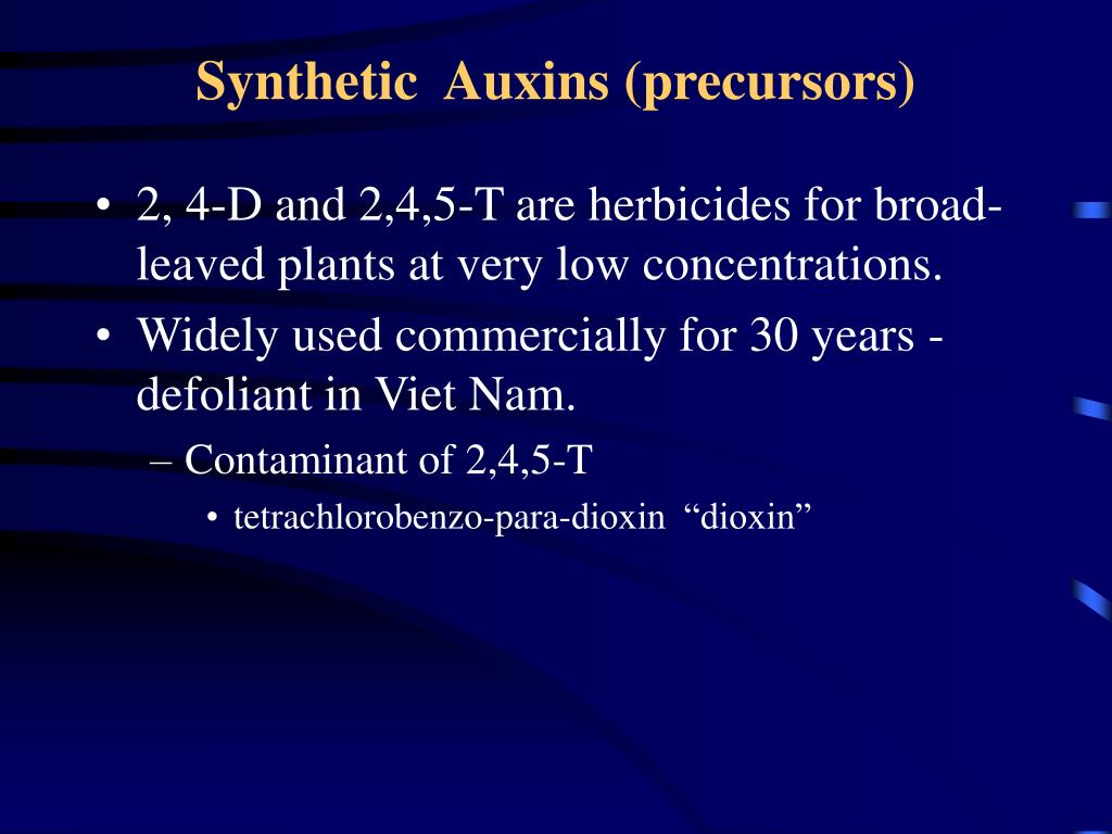 Synthetic  Auxins (precursors)