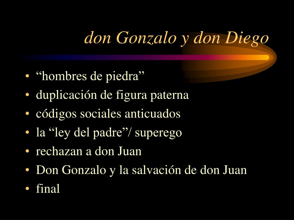 don Gonzalo y don Diego
