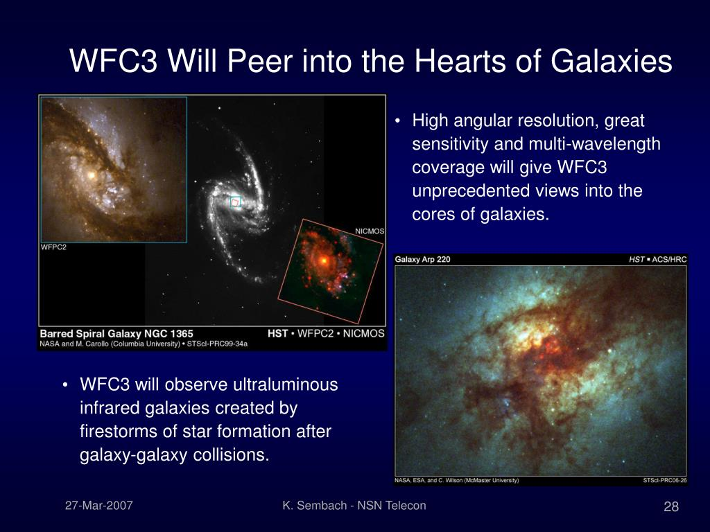 WFC3 Will Peer into the Hearts of Galaxies