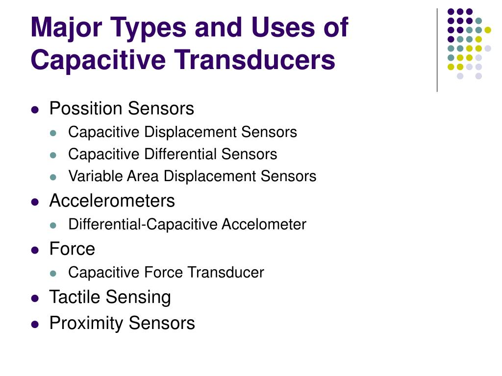 PPT - Capacitive Transduces PowerPoint Presentation - ID:350426