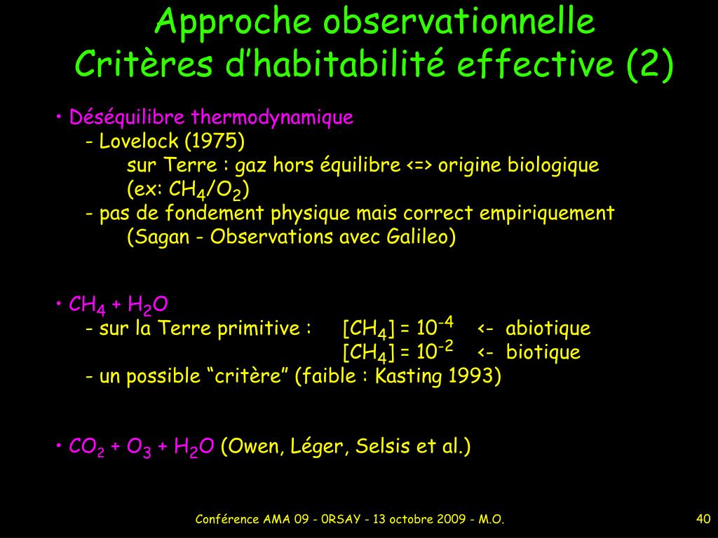 Approche observationnelle