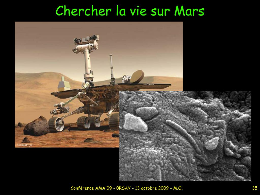 Chercher la vie sur Mars